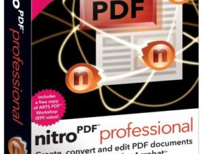 NITRO PRO 13 PDF Editor 32/64 Bit Lifetime License