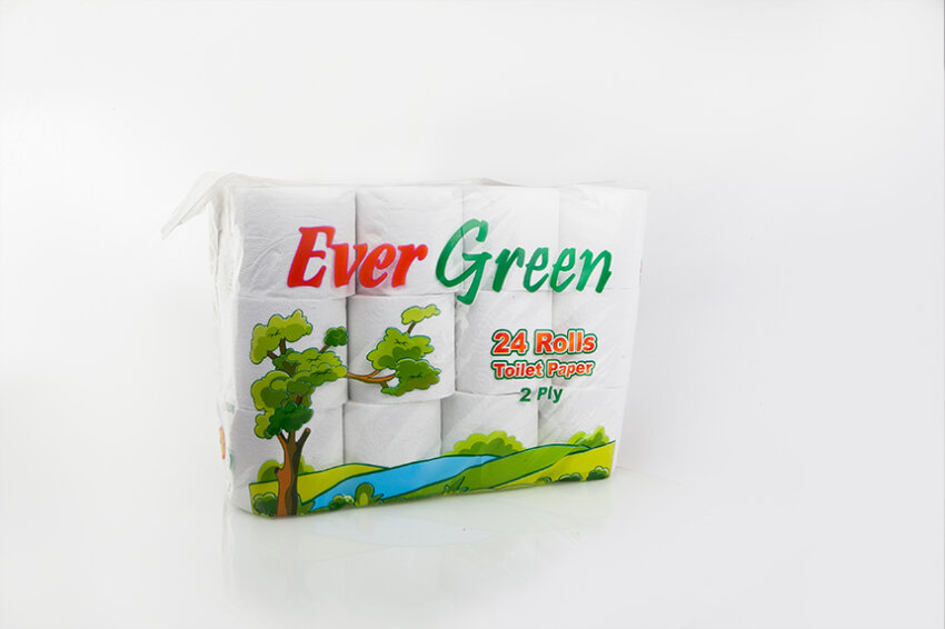 Everpack Toilet Roll Evergreen Family x 24